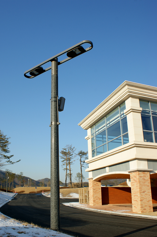 Concrete Pole Design : Designpole street light poles embedded style