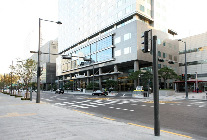 Demolition Concrete Poles : Designpole street light poles embedded style